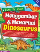 Step by Step Menggambar & Mewarnai Dinosaurus