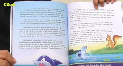 cikal aksara dongeng