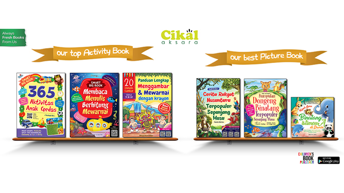 Let Us Grow With The Book!  Selamat Hari Buku Anak Internasional