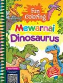 Fun Coloring Mewarnai Dinosaurus