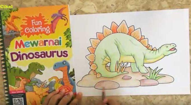 menggambar dan mewarnai dengan pensil warna