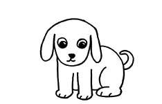 Ajaib Menggambar Anjing Dari Huruf U Cikal Aksara