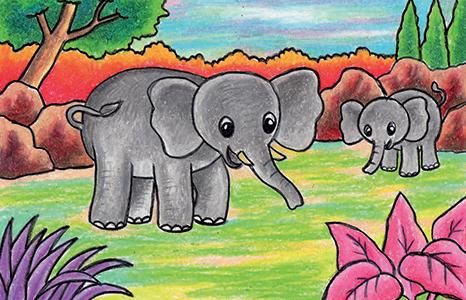 400+ Gambar Ilustrasi Fauna Yang Mudah Digambar  Terbaru