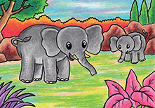 gajah-kecil