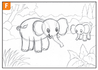 Cara Mudah Menggambar Gajah Cikal Aksara
