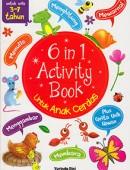 6 in 1 Activity Book untuk Anak Cerdas