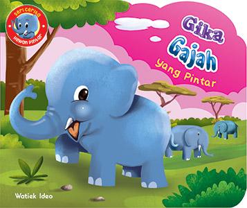 Gika; Gajah yang Pintar