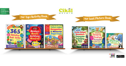 Let Us Grow With The Book!  Selamat Hari Buku Anak Internasional