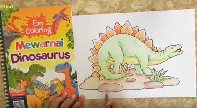 Panduan Mewarnai Dengan Pensil Warna Untuk Anak