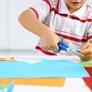 keterampilan menggunting dan menempel anak