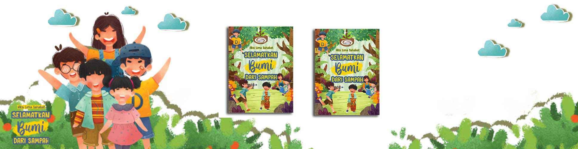 buku selamatkan bumi untuk anak-anak