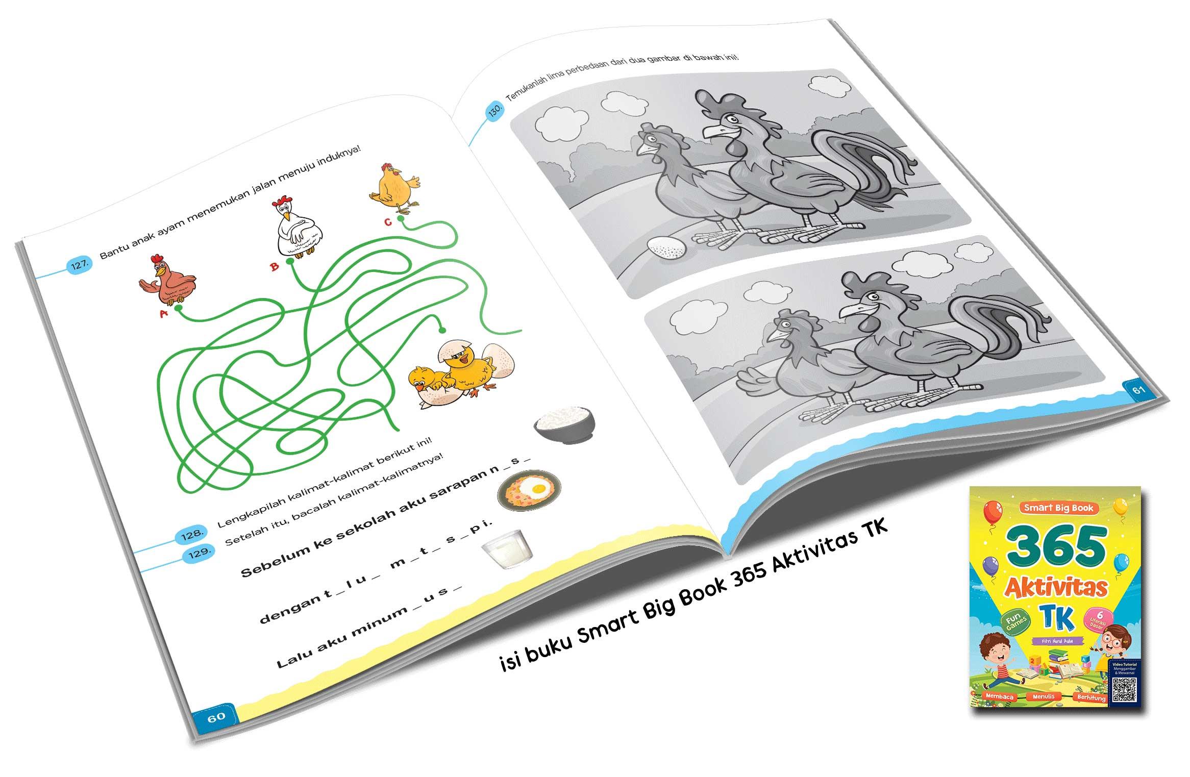 Gerakan Literasi Dengan Rujukan 4 Buku Smart Big Book Cikal Aksara