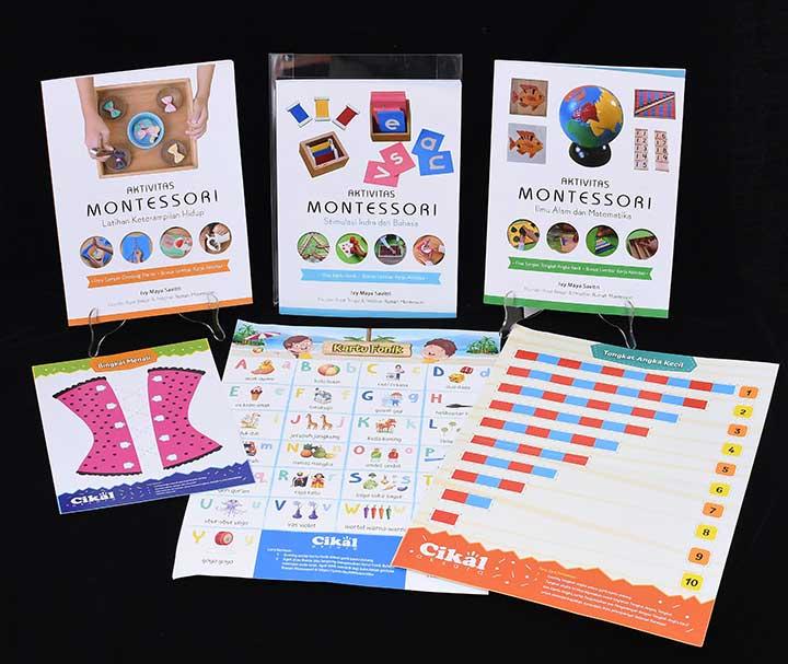 buku lengkap Aktivitas Montessori