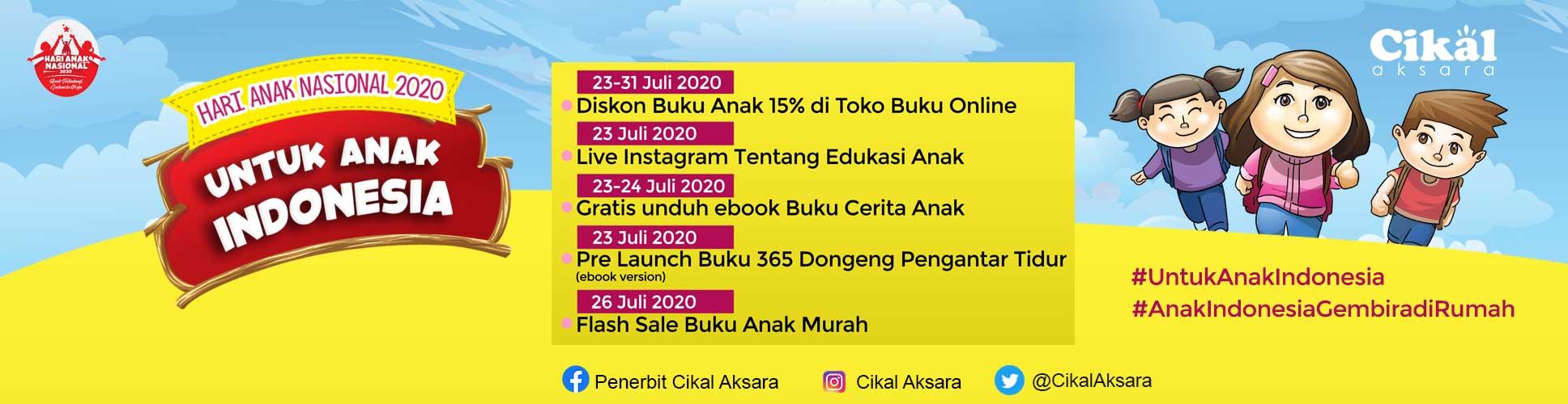 hari anak nasional 2020 cikal aksara