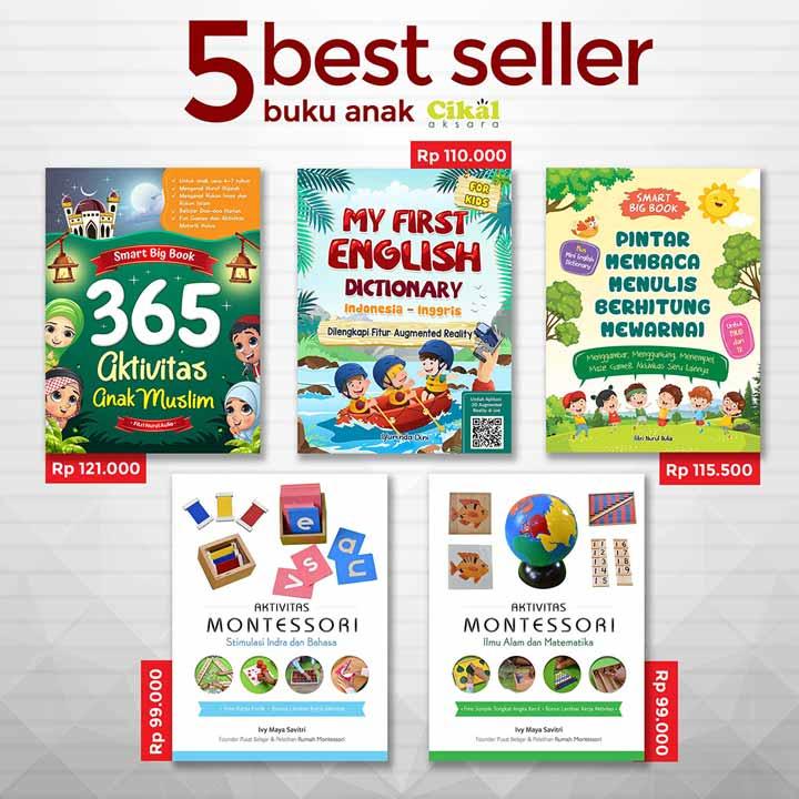 5 best seller cikal aksara