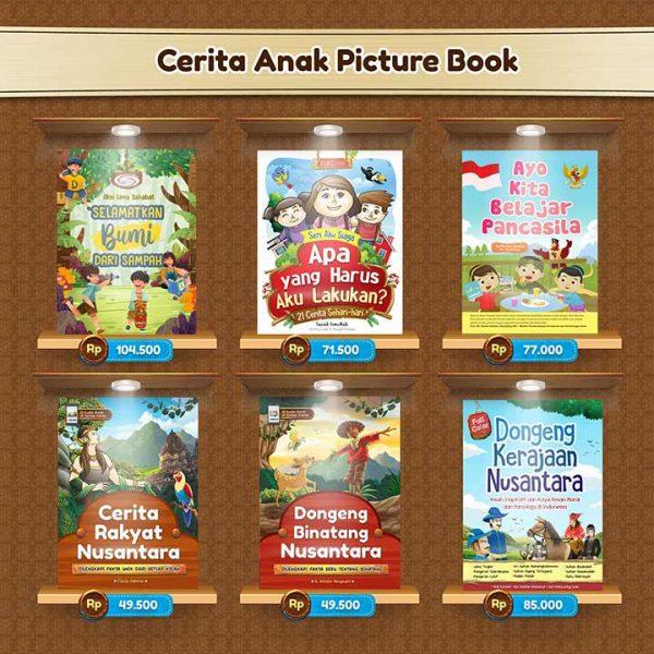 buku cerita anak picture book cikalaksara