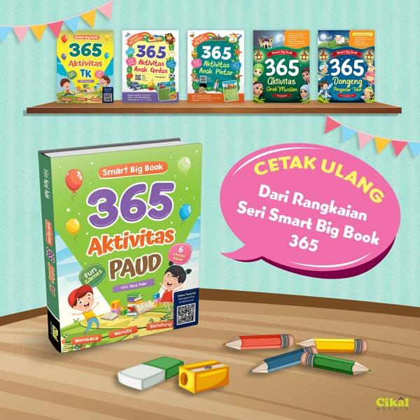 smart big book 365 aktivitas paud bestseller