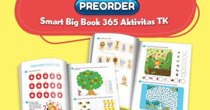 preorder Smart Big Book 365 Aktivitas TK