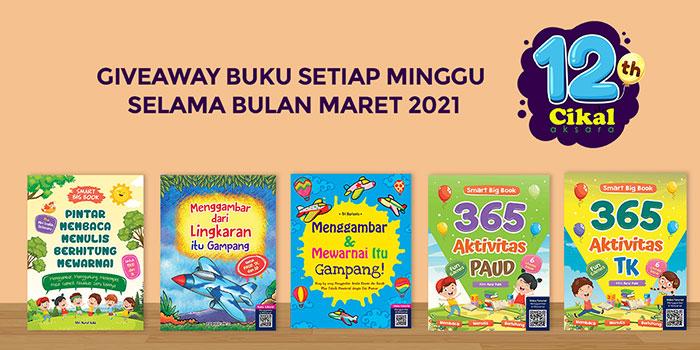 Giveaway buku setiap minggu