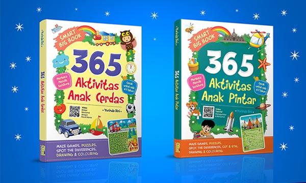 Solusi Pintar Aktivitas Belajar di Rumah, Ikuti Preorder 365 Anak Cerdas dan Pintar