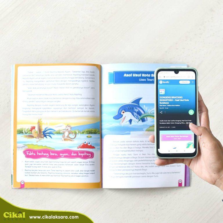 audio book Cerita Rakyat Nusantara dan Cerita Binatang Nusantara