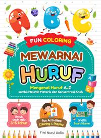 Fun Coloring Mewarnai Huruf