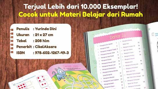 Siap Dukung Literasi untuk Anak di Rumah, buku Smart Big Book 365 Aktivitas Anak Cerdas, Terjual lebih dari 10.000 eksemplar, Hari ini PO Cetakan Terbarunya Dibuka Lagi